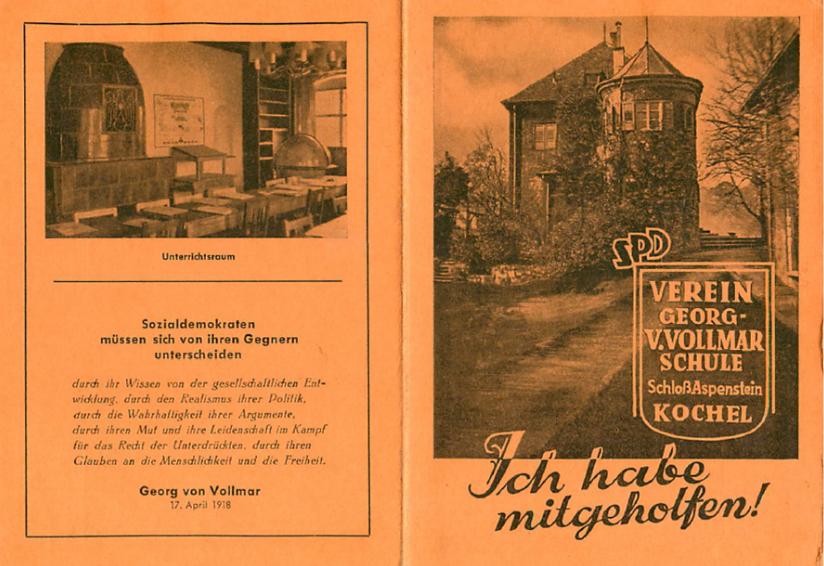 Vollmar-Akademie Förderverein historisch