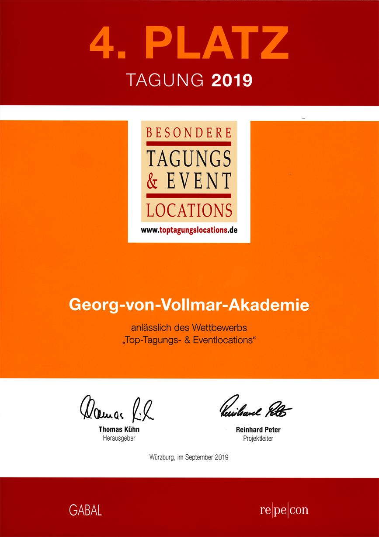 Vollmar-Akademie Auszeichnung